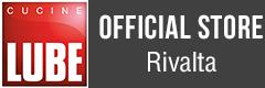 LUBE e CREO Kitchens Store Rivalta Logo